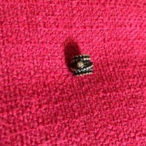 NWOT Pandora charm with rhinestones, 925
